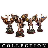 Archangels Of Light Bronze Sculpture Collection