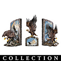 Majestic Eagle Bookend Collection