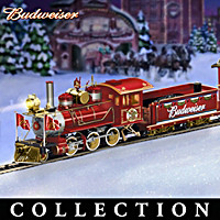 Budweiser Holiday Express Train Collection