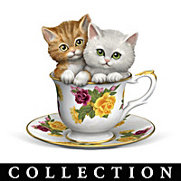Purr-fectly Tealightful Curio Figurine Collection