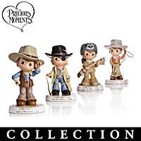 Precious Moments Tribute To John Wayne Figurine Collection