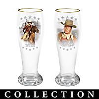John Wayne Pilsner Glass Collection