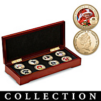 Queen Elizabeth II Royal Canadian Tours Coin Collection