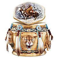 Spirit Of The Cougar Keepsake Box