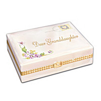 Dear Granddaughter Music Box