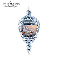Thomas Kinkade Winter Wonderland Ornament