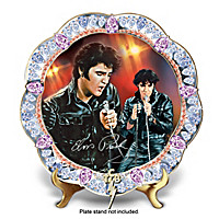 Forever The King Collector Plate