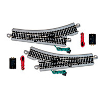 HO Scale Remote Control Switch Train Accessory Set