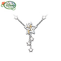 Tinker Bell Wishes Crystal Necklace