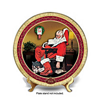 Norman Rockwell The Day After Christmas Collector Plate