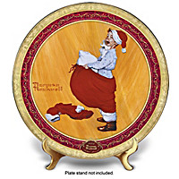 Scotty Plays Santa Collector Plate