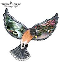 Thomas Kinkade Beauty In Flight Wall Decor
