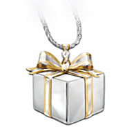 Mom, A Gift Of Love Diamond Pendant Necklace