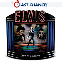 Elvis Live In Concert Music Box