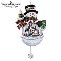 Thomas Kinkade A Holiday Gathering Ornament