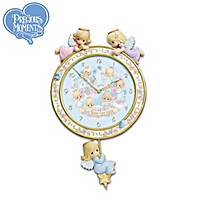 Precious Moments Blessings Of Home Clock