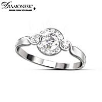Love Comes Full Circle Diamonesk Ring