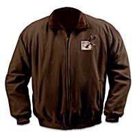 Wings Of Glory Reversible Fleece Jacket