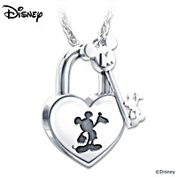 Disney Unlock The Magic Pendant Necklace