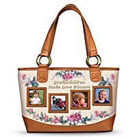 Grandchildren Make Love Blossom Tote Bag