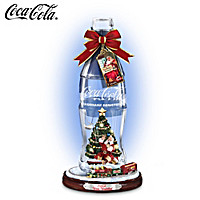 Coca-Cola Winter Wonderland Bottle Figurine