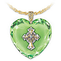 Emerald Isle Blessings Pendant Necklace