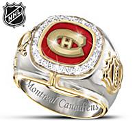 Montreal Canadiens® Diamond Ring