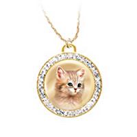 A Cat Is A Friend Fur-Ever Pendant Necklace