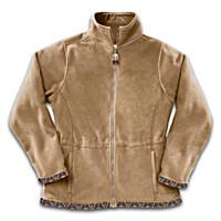 Spirits In The Wilderness Fleece Jacket