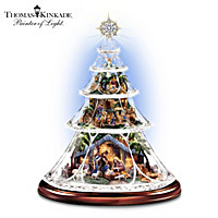 Thomas Kinkade Reflections Of Peace Tree