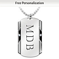 For My Son Personalized Pendant Necklace