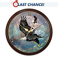Eagle's Triumph Wall Clock