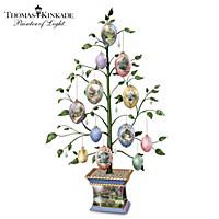 Thomas Kinkade Easter Blessings Tabletop Tree