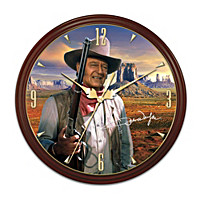 John Wayne: Legend Of The Hour Wall Clock