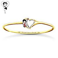 Betty Boop Heart Bracelet