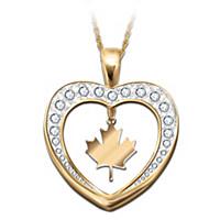 O Canada Pendant Necklace