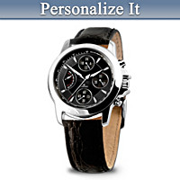 For My Son Personalized Men's Watch