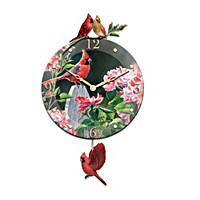 Cardinal Serenade Wall Clock