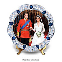 It's Official! The Royal Wedding Jewelled Plate