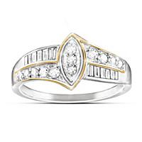 The Marquise Diamond Women's Ring