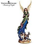 Thomas Kinkade Night Of The Dear Saviour's Birth Figurine