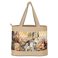 Guided By Love Tote Bag