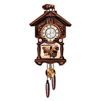 U.S. Indian Head Nickel Cuckoo Clock