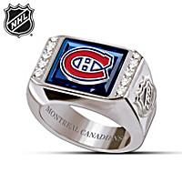 Montreal Canadiens® Men's Ring
