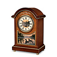 Evening Harmony Carriage Tabletop Clock
