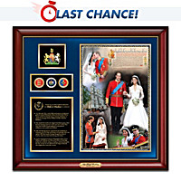 2011 Royal Wedding Tribute Wall Decor