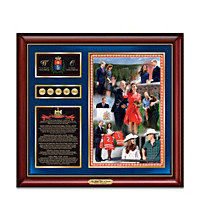 2011 Royal Tour Of Canada Tribute Wall Decor