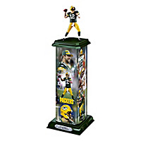 Aaron Rodgers: Legend In Action Sculpture