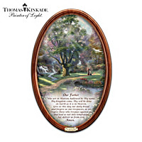 Thomas Kinkade Walk Of Faith Collector Plate