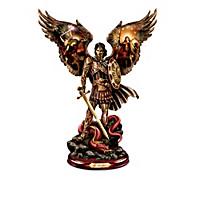Michael: Triumphant Warrior Sculpture